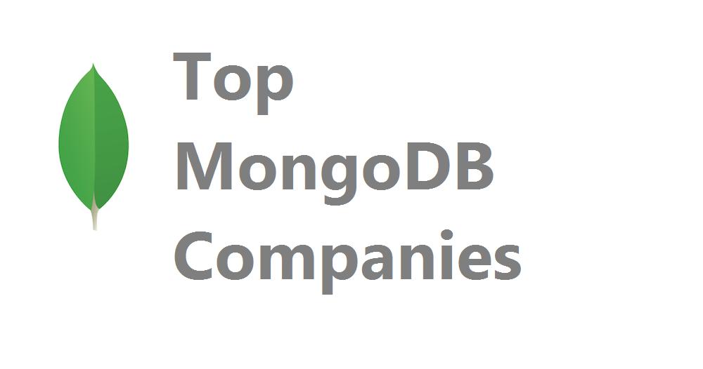 10 MongoDB Companies