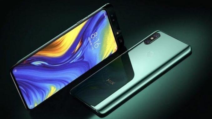 Xiaomi Mi Mix 3 with 5G has been released