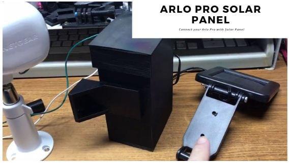 Install Arlo Solar Panel