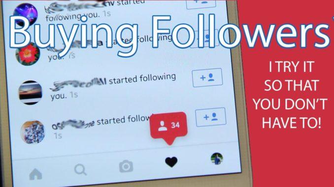 Is it worth it to buy Instagram followers,