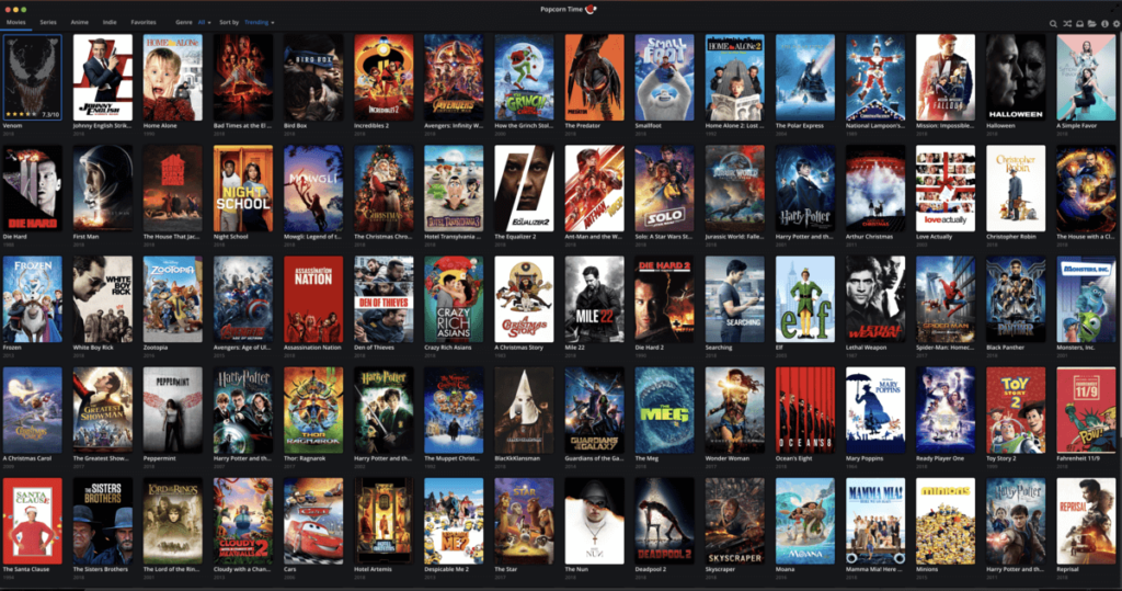 Popcorn Time | Watch Free Movies and TV Shows