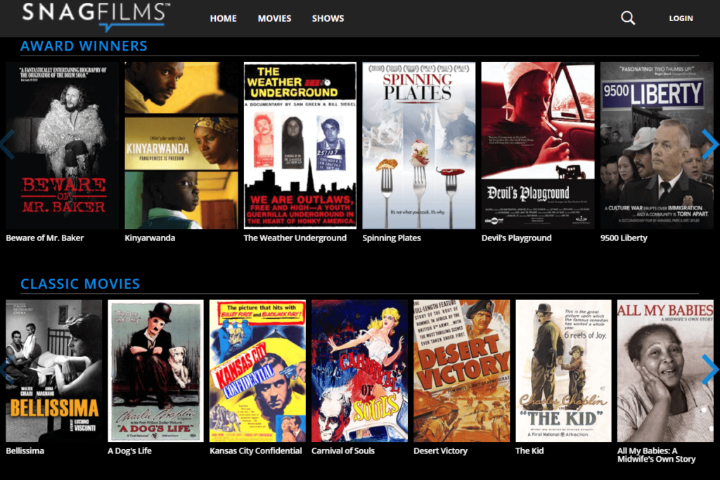 SnagFilms Review: A Free Online TV Streaming Service