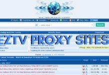 Eztv Proxy Torrents
