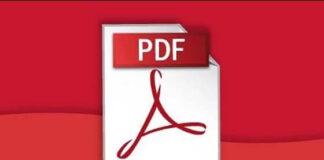Use a PDF